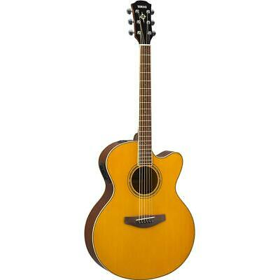 AU1117.50 • Buy Yamaha CPX600 Vintage Tint Cutaway Acoustic Electric Guitar