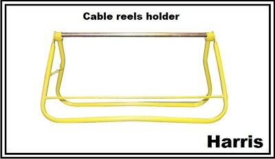 Cable Reel Holder Free Standing Cable Spool Dispenser Stand Electrician  ECR2 • 35.99£
