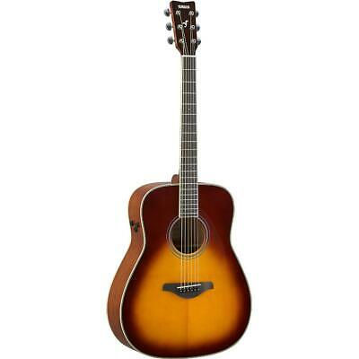 Yamaha FG Trans Dreadnought Brown Sunburst Acoustic Guitar • 909.16£