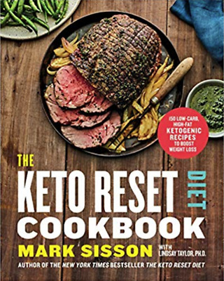 $19.99 • Buy The Keto Reset Cookbook: 150 Low-Carb, High-Fat Ketogenic Recipes(0525576762)