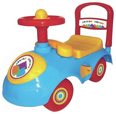 Chad Valley Ride-On Car Ride On Kids Push Toy Can Be Pushed Along With Handle • 19.99£