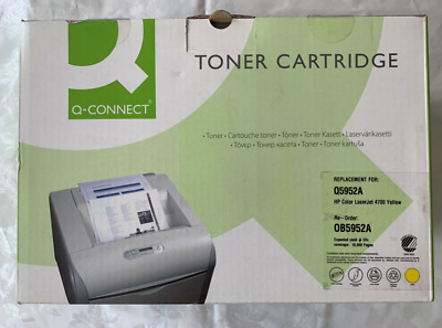 Q-CONNECT Laser Toner Cartridge HP Q5952A Yellow HP 4700, 4700dn • 34.99£