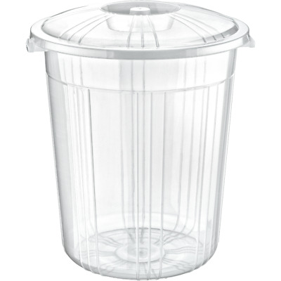 £12.99 • Buy Clear Plastic Bin Kitchen Food Flour Storage Animal Feed Pet Food Container Box