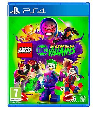 AU65 • Buy LEGO DC Super-Villains PS4 New & Sealed SAME DAY FREE SHIPPING