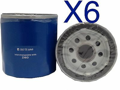 AU18 • Buy 6X Oil Filter Suits RYCO Z160 Oil FIlter // (F160