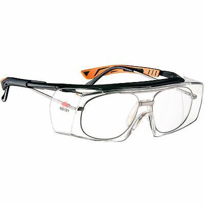 Over Specs Safety Glasses Anti Scratch Googles Wrap Around Lenses Uv4 Protection • 19.97£