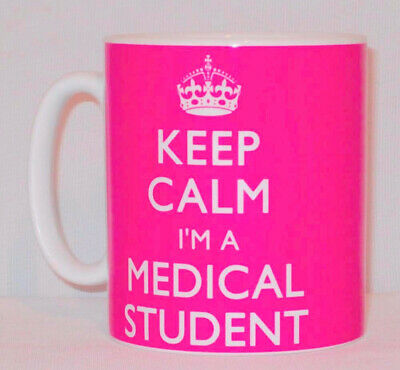 £9.99 • Buy Keep Calm I'm A Medical Student Mug Can Personalise Great Doctor Nurse Gift Cup