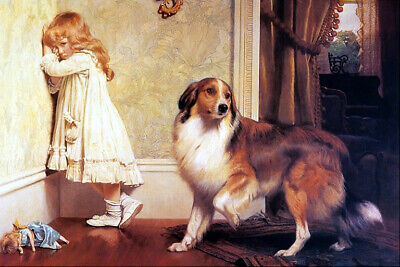 £16.84 • Buy Charles Burton Barber Special Pleader Canvas Picture Poster Print Unframed D168