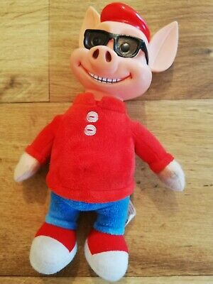 Pinky & Perky Movie Large Perky Soft Toy Talking Plush 2009 Summer Sunglasses • 1.49£