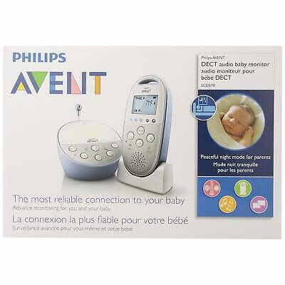AU83.94 • Buy Philips Avent Dect Baby Monitor, White #SCD570/10, BRAND NEW IN BOX