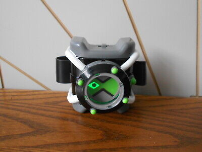 DELUXE LIGHT AND SOUND OMNITRIX Character Toy BEN 10 Playmates CARTOON NETWORK • 24.99£