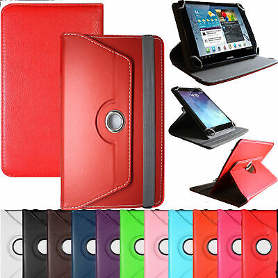 New Rotatable Pu Leather Case Cover For Android Tablet PC 9.7  10  10.1  • 5.49£