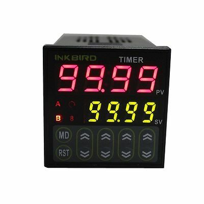 £21.05 • Buy Digital Timer Electric Programmable Twin Timer Control Switch Delay Relay 110V