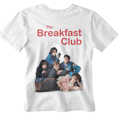The Breakfast Club Unisex T Shirt All Sizes Retro 80s Movie Pack Student Life  • 4.95£