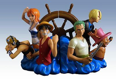 Shonen Jump One Piece Bookends Statue Set - Limited Edition NEW In Box • 149.46£