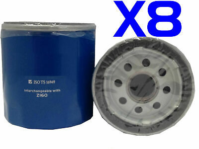 AU21 • Buy 8X Oil Filter Suits Z160 HOLDEN COMMODORE UTE 8CYL VZ V8 6.0L 5.7L 2004-2007