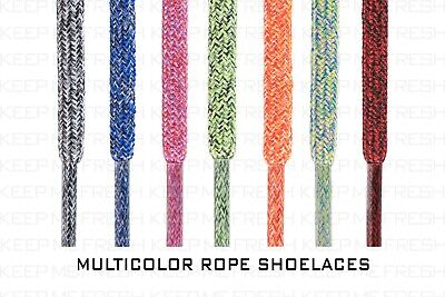 £5.82 • Buy Rope Multicolor Shoelaces Laces Colorful Nike Adidas Buy 2 Get 1 Free