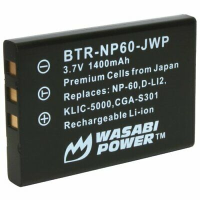 £7.96 • Buy Wasabi Power Battery For Toshiba Camileo H10, H20, P10, P20, P30, S10