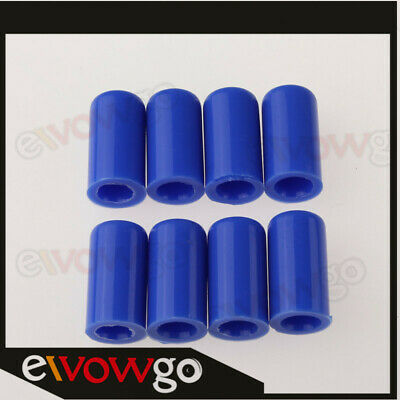 8 X 4mm 5/32  Silicone Blanking Cap Intake Vacuum Hose End Bung Plug Silicon Cap • 2.85£