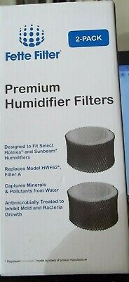 $ CDN12.36 • Buy Fette Filter Premium Humidifier Filters FF1039 Replaces HWF62 Sunbeam Holmes