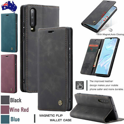 AU9.99 • Buy Genuine CaseMe Magnetic Leather Wallet Card Stand Case Samsung A20/30 S8 S8P S7