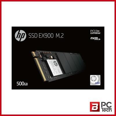 AU119 • Buy HP SSD EX900 M.2 NVMe 500GB, 3D TLC With HP Controller H8038 And 2100/1500 Max R