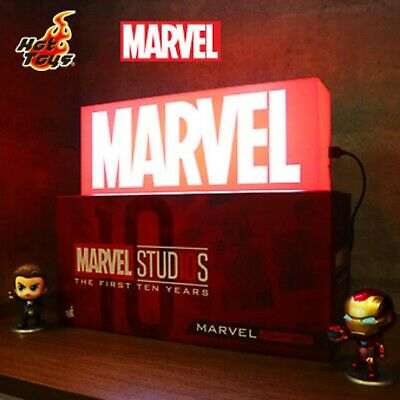 $ CDN326.65 • Buy Hot Toys Marvel Logo Light Box The Avengers End Game EXCLUSIVE JAPAN RARE FS NEW