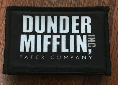 $7.99 • Buy Dunder Mifflin Logo The Office Morale Patch Funny Tactical Military USA Army
