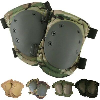 £14.99 • Buy Military Knee Pads Protection Mens Army Paintballing Airsoft Mtp Btp Camo Black