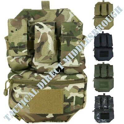 Tactical Assault Panel Airsoft Plate Carrier Molle System Ammo Pouches Webbing • 18.95£