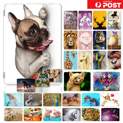 AU16.99 • Buy Animal Front&Back Smart Case Cover For IPad 8 7 6 5 Mini Air Pro 9.7 10.5 F003