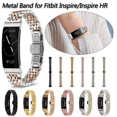 AU17.99 • Buy AU Metal Bands For Fitbit Inspire & Inspire HR Stainless Steel Replacement Strap