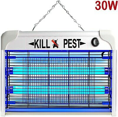 £22.49 • Buy 30W Electric UV Insect Killer Mosquito Fly Pest Bug Zapper Home Trap LED Light