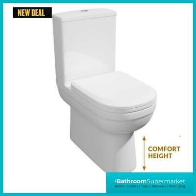 £179.95 • Buy Kvit Lifestyle Comfort Height Close Coupled Toilet Compact Wc Soft Close Seat