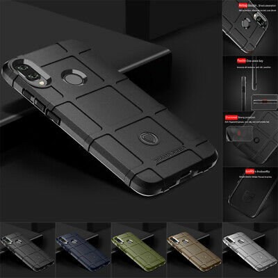 $3.75 • Buy For Xiaomi Redmi Note 8 7 6 5 Pro Shockproof Rugged Shield Soft Armor Case Cover