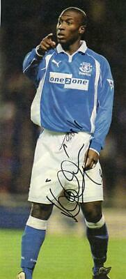 £4.99 • Buy Kevin Campbell (Everton) Signed Picture