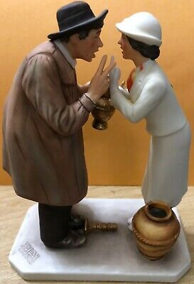 "$ CDN20.46 • Buy Gorham Norman Rockwell ""Antique Dealer"" Figurine 1983, Numbered Limited Edition"