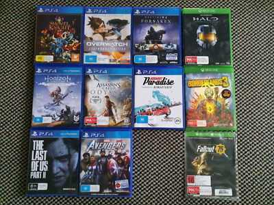 AU20 • Buy GAMES!!! PS4/3DS/DS/GBA, Excellent Used Condition
