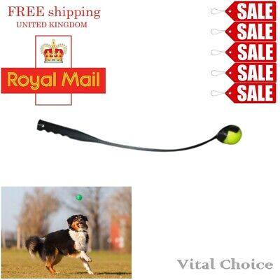 £6.95 • Buy 25  Dog Ball Thrower Launcher With Tennis Ball Puppy Pet Toy Training Exercise