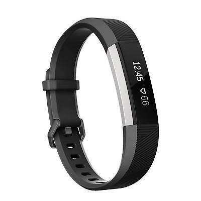 AU7.12 • Buy Fitbit Alta Strap Small Large Replacement Soft Silicone Loop Band Durable BLACK