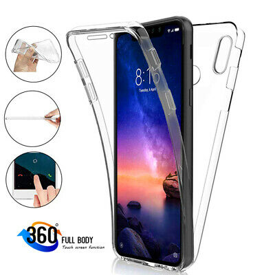 $1.47 • Buy For Xiaomi Redmi Note 8 7 6 5 Pro 360° Full Protect Hybrid Clear Back Case Cover