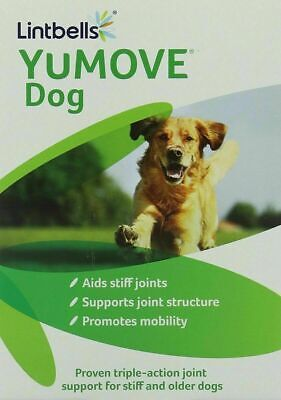 Lintbells YuMOVE Dog Joint Supplement For Stiff And Older Dogs - 120 Tablets • 24.99£