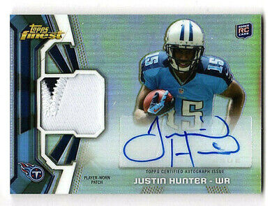 $99.95 • Buy Justin Hunter  2013 Topps Finest /  Autograph  /  Auto  /  Rookie  /  Rc