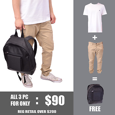 View Details Nautica & Super Dry Men's Back-To-School Outfit + FREE Burton Backpack • 90.00$ CDN