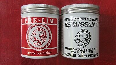 RENAISSANCE WAX & PRE-LIM SURFACE CLEANER TWIN PACK 200ml • 36.96$