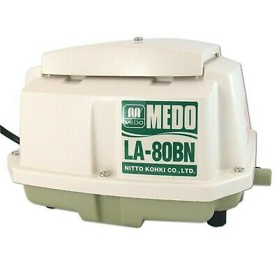 MeDo LA-80BN SUPERIOR Aerobic Septic Tank Air Pump Replaces HP80 Hiblow  • 179.94£