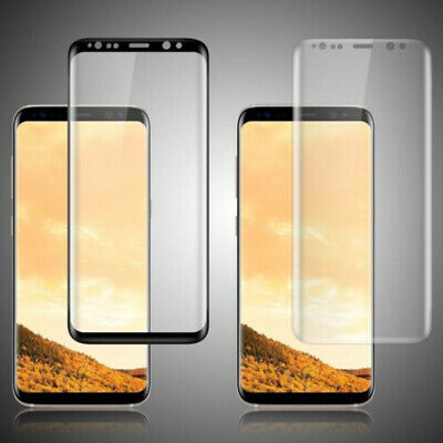 $ CDN5.02 • Buy Samsung Galaxy S8 S9Plus NOTE8 9 Screen Protector Tempered Glass 3D Curved Glass