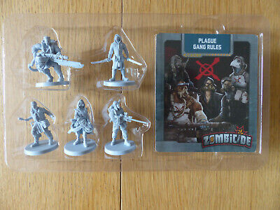 AU68.03 • Buy Zombicide: Invader: Kickstarter Exclusive Plague Gang Survivor Pack