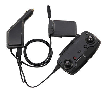 AU17.69 • Buy Car Charger Battery Remote Control USB Charging 2 In1 For Rc DJI Mavic Air Drone