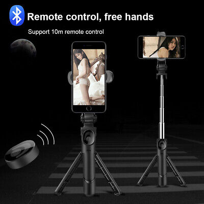 AU20.12 • Buy 360° Rotating Selfie Stick Tripod With Bluetooth Remote For Mobile Phone